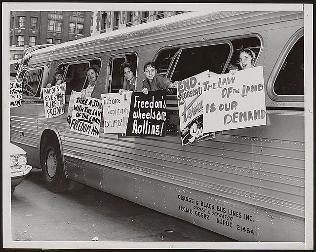 Image result for freedom riders in 1971